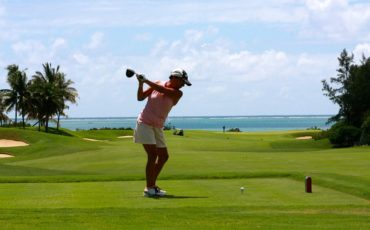 golf face à la mer